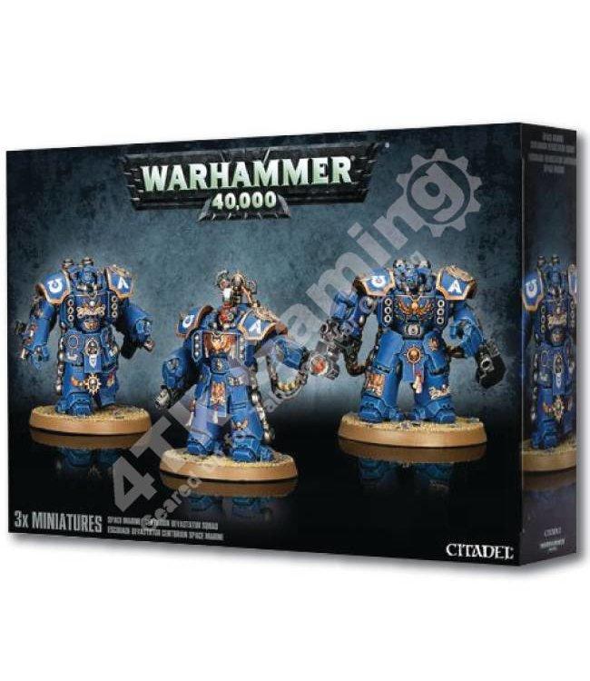 Games Workshop Space Marine Centurion Devastator Squad