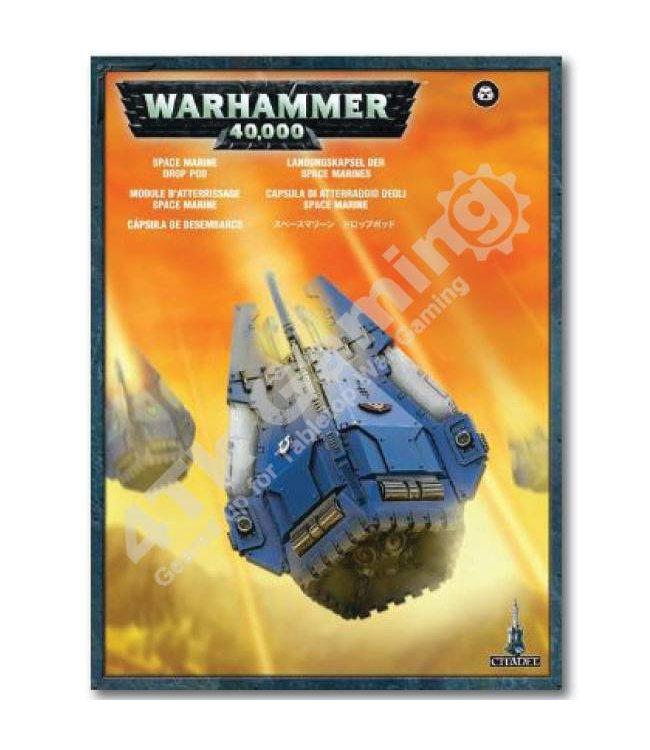 Games Workshop Space Marine Drop Pod