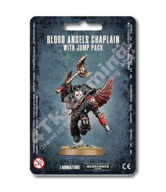 Warhammer 40000 Blood Angels Chaplain With Jump Pack