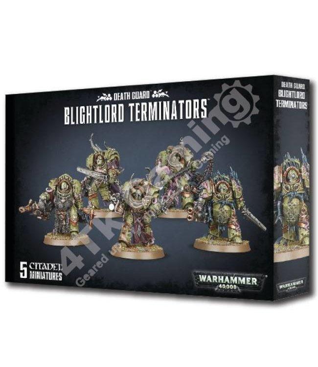 Games Workshop Death Guard Blightlord Terminators