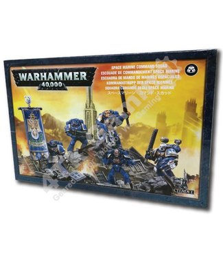 Games Workshop Space Marine Command Squad
