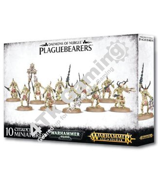Games Workshop Daemons of Nurgle Plaguebearers