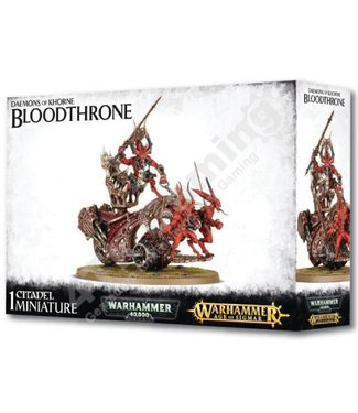 Games Workshop #Daemons Of Khorne Bloodthrone
