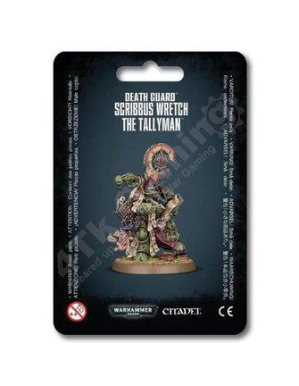 Games Workshop Death Guard Scribbus Wretch The Tallyman