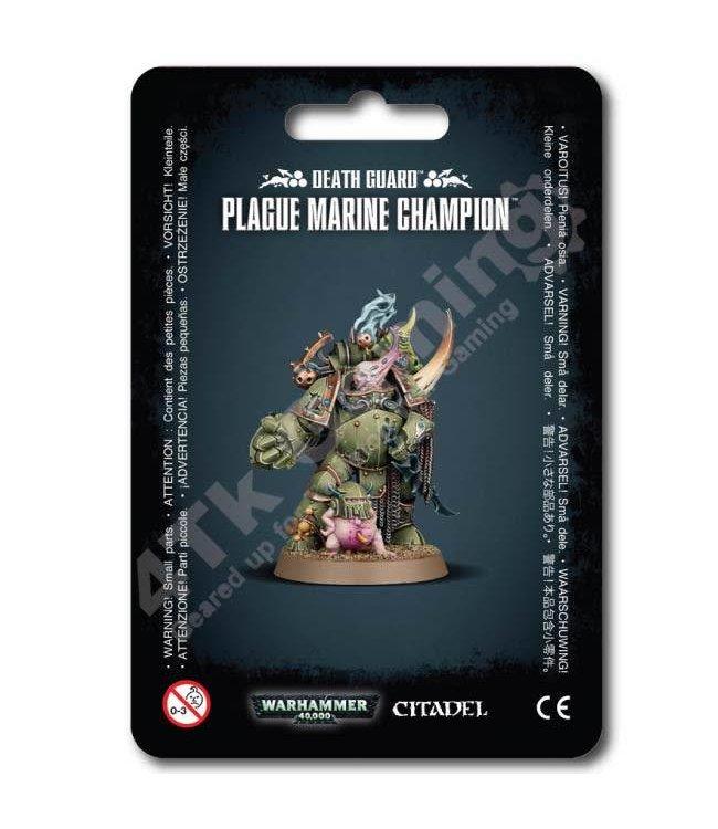 Games Workshop Death Guard Plague Marine Champion