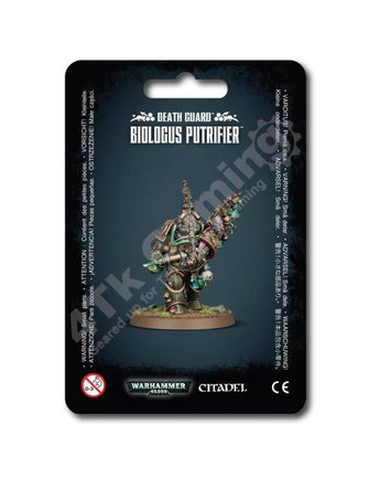Games Workshop Death Guard Biologus Putrifier