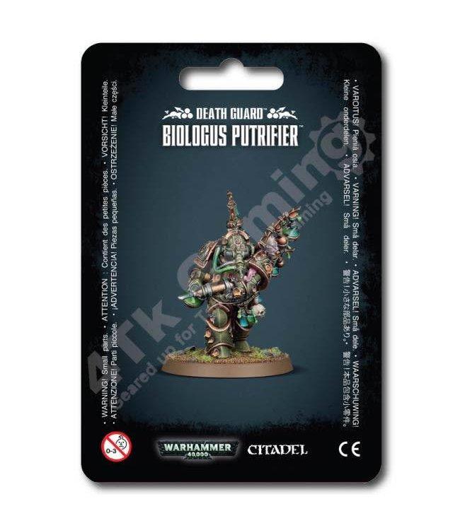 Games Workshop Death Guard Biologus Putrifier