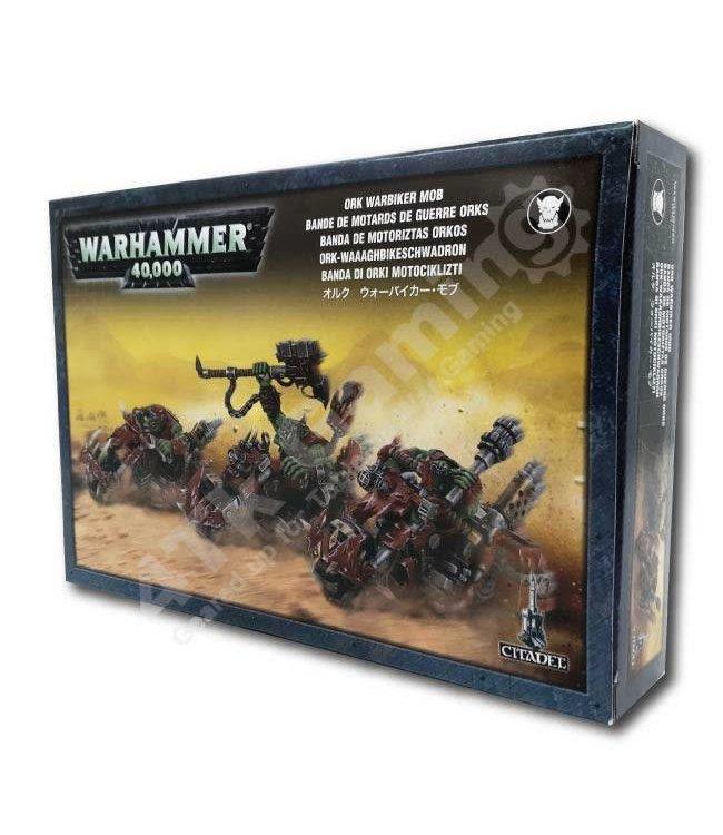 Games Workshop Ork Warbiker Mob