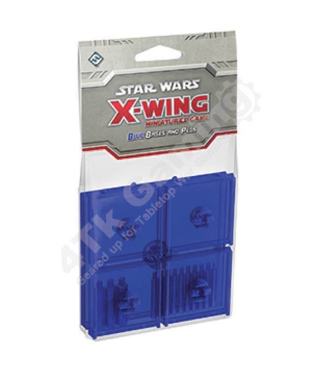 Star Wars X-Wing Blue Bases and Pegs Accessory: X-Wing Mini Game