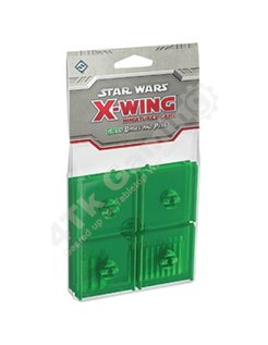 Green Bases and Pegs Accessory: X-Wing Mini Game