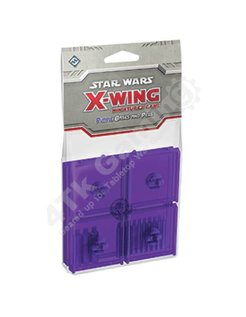 Purple Bases and Pegs Accessory: X-Wing Mini Game