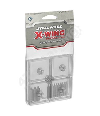 Star Wars X-Wing Clear Bases and Pegs Accessory: X-Wing Mini Game