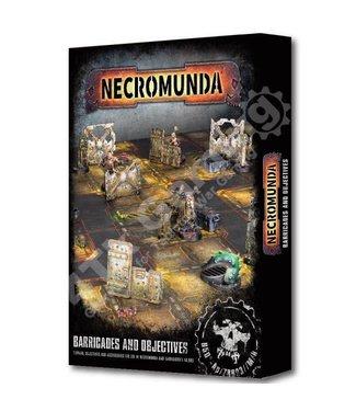 Necromunda #Barricades And Objectives