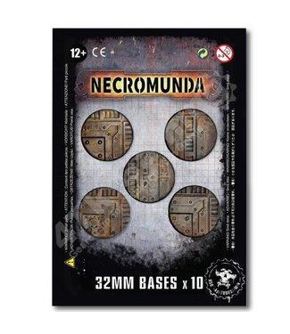 Necromunda Necromunda 32Mm Bases (X10)