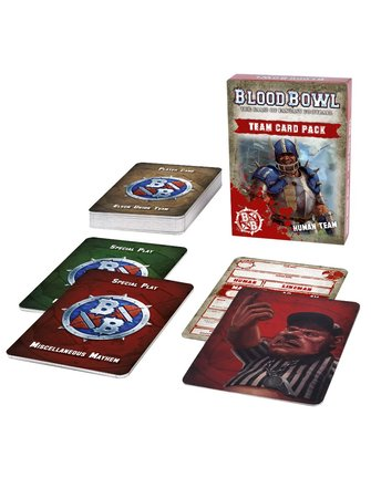 Blood Bowl *Blood Bowl: Human Team Card Pack