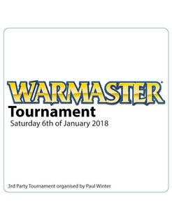 Warmaster V Tournament