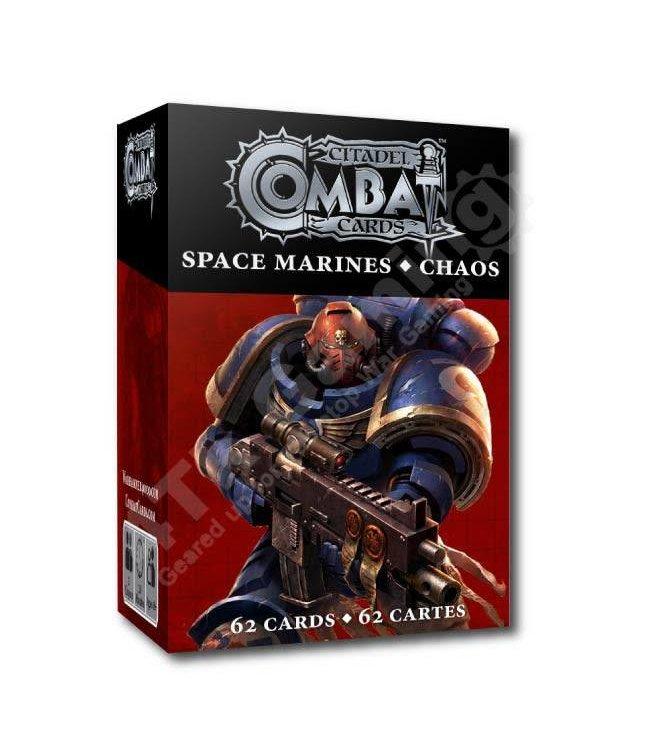 Warhammer 40000 *Citadel Combat Cards: S/Marines + Chaos