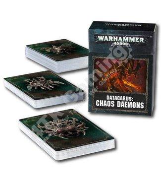 Warhammer 40000 Datacards: Chaos Daemons