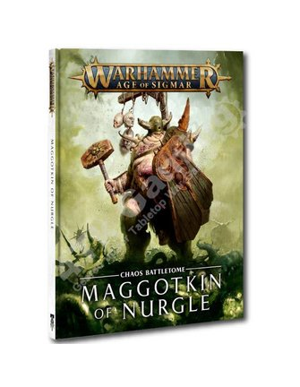 Age Of Sigmar Battletome: Maggotkin Of Nurgle (Hb)
