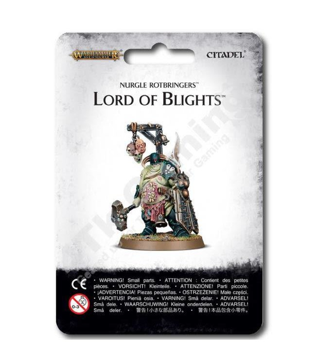 Age Of Sigmar ~ Nurgle Rotbringers Lord Of Blights