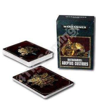Warhammer 40000 Datacards: Adeptus Custodes