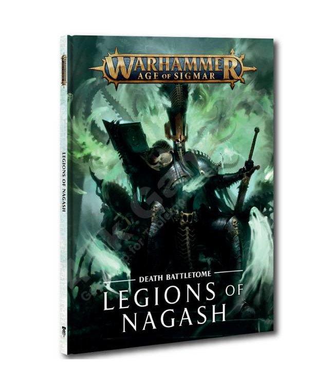 Age Of Sigmar Battletome: Legions Of Nagash (Hb)