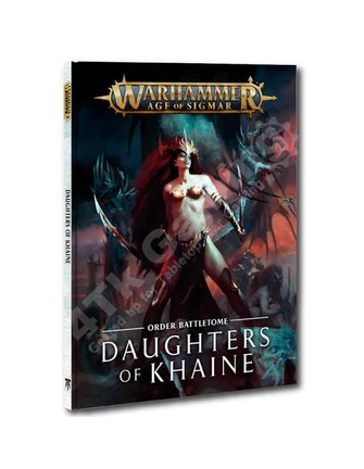 Age Of Sigmar Battletome: Daughters Of Khaine (Hb)