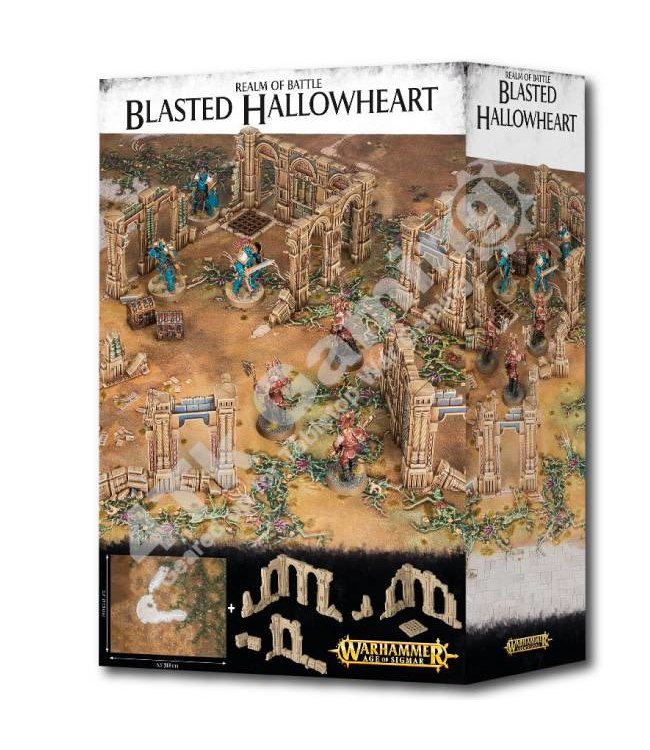 Age Of Sigmar Realm Of Battle: Blasted Hallowheart