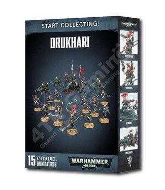 Warhammer 40000 Start Collecting: Drukhari