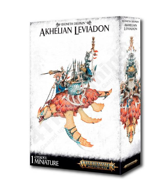 Age Of Sigmar Idoneth Deepkin: Akhelian Leviadon