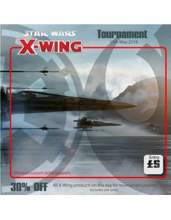 X-Wing Tournament 13th May