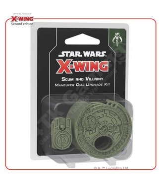 Star Wars X-Wing Star Wars X-Wing: Scum and Villainy Maneuver Dial Upgrade Kit