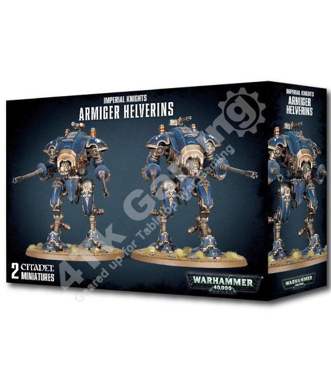 Warhammer 40000 Imperial Knights Armiger Helverins