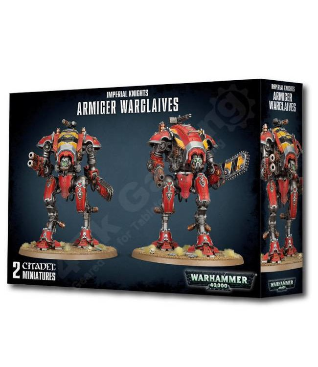 Warhammer 40000 Imperial Knights: Armiger Warglaives
