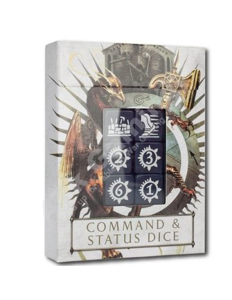 Age Of Sigmar #Age Of Sigmar: Command & Status Dice