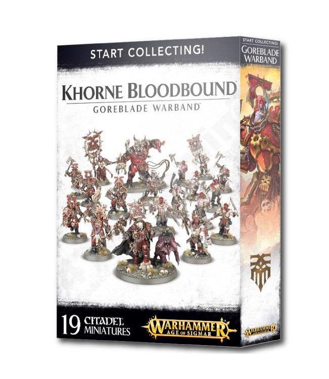 Age Of Sigmar Khorne Bloodbound Goreblade Warband
