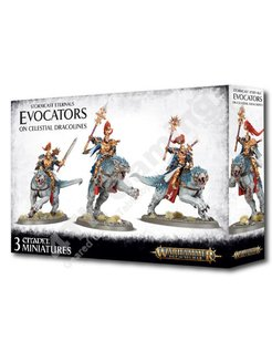 Stormcast Eternals - Evocators On Celestial Dracolines