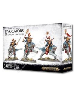 Stormcast Eternals - Evocators On Celestial Dracolines