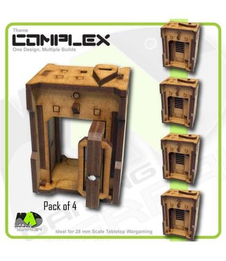 MAD Gaming Terrain Standard Door Pack x4