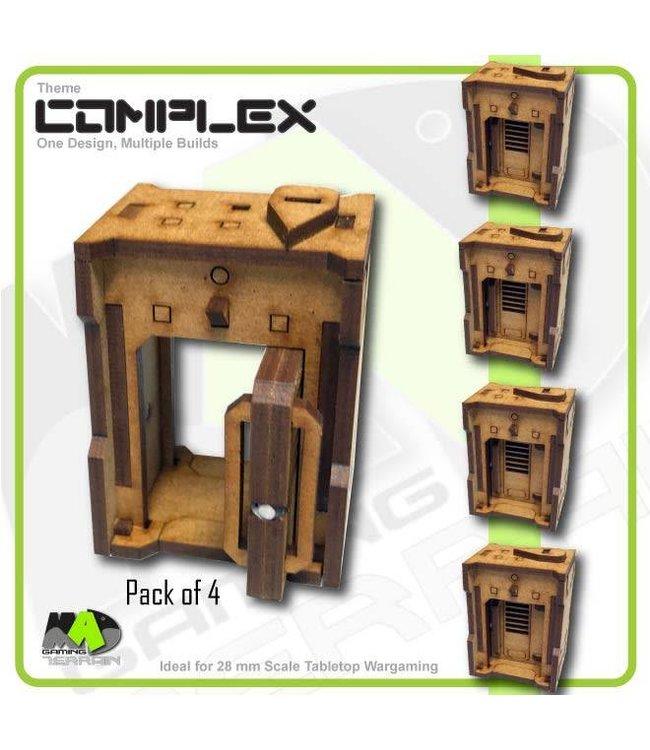 MAD Gaming Terrain Standard Door Pack x4