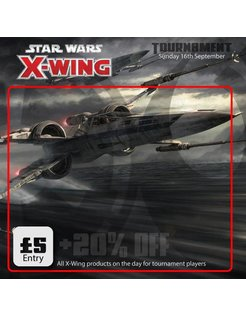 X-Wing Tournament - Sunday 16th September 2018