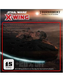 X-Wing Tournament - Sunday 21st October 2018
