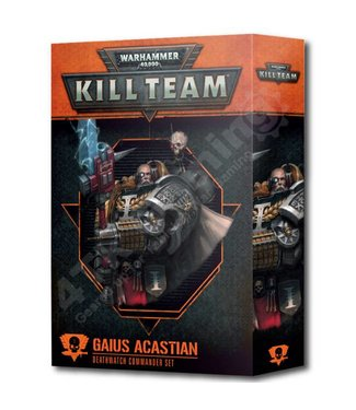 Kill Team Commander: Gaius Acastian