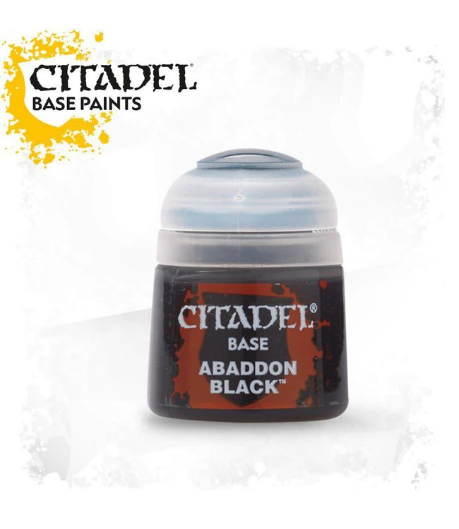 Citadel BASE: Abaddon Black