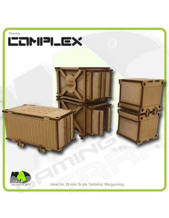 MAD Gaming Terrain Containers - Industrial (large pack)