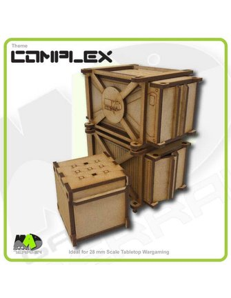 MAD Gaming Terrain Containers - Industrial (small pack)