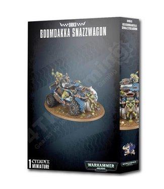 Warhammer 40000 Orks Boomdakka Snazzwagon