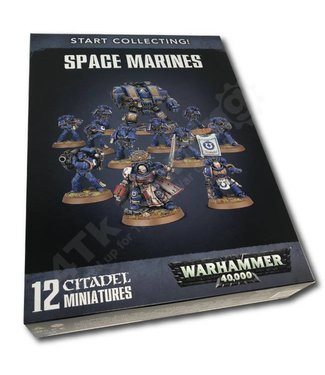 Games Workshop Start Collecting! Space Marines