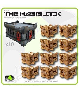 MAD Gaming Terrain Hab Block - Standard - 10pk