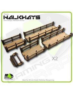 Walkways - Straight set